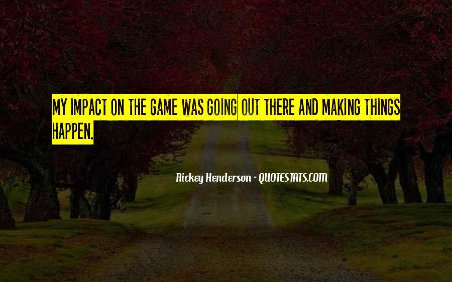 Rickey Henderson Quotes #486143