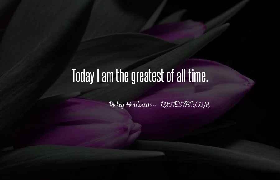 Rickey Henderson Quotes #573328