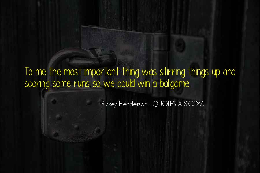 Rickey Henderson Quotes #688663