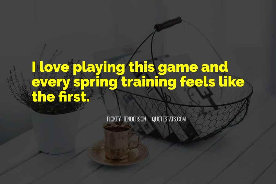 Rickey Henderson Quotes #716329