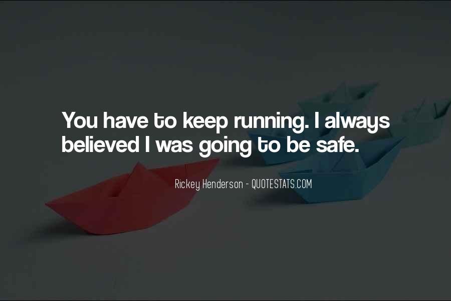 Rickey Henderson Quotes #743706