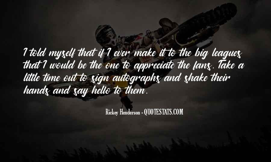 Rickey Henderson Quotes #778528