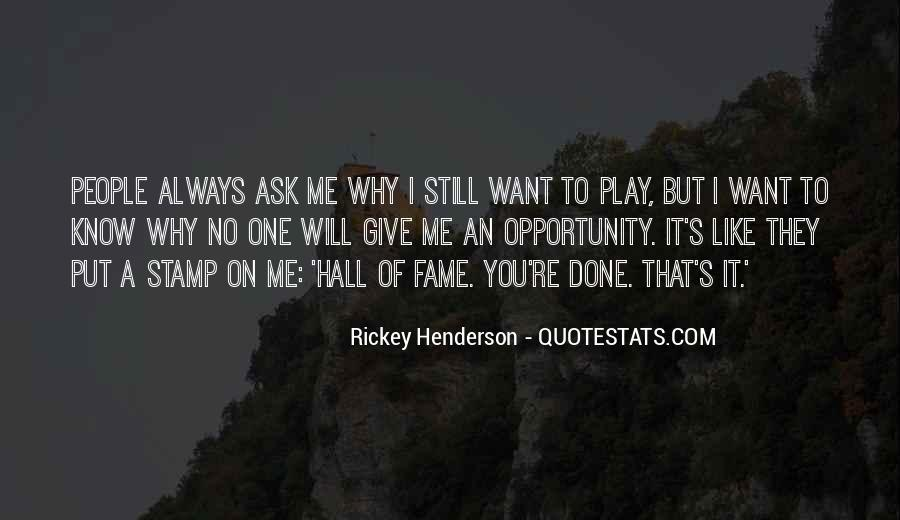 Rickey Henderson Quotes #960970