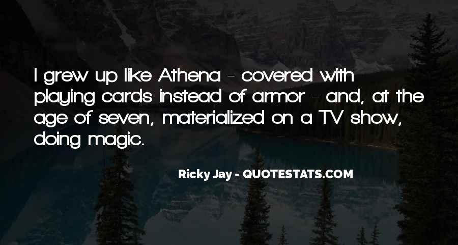 Ricky Jay Quotes #1574191