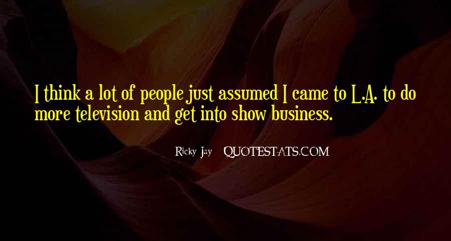 Ricky Jay Quotes #275624