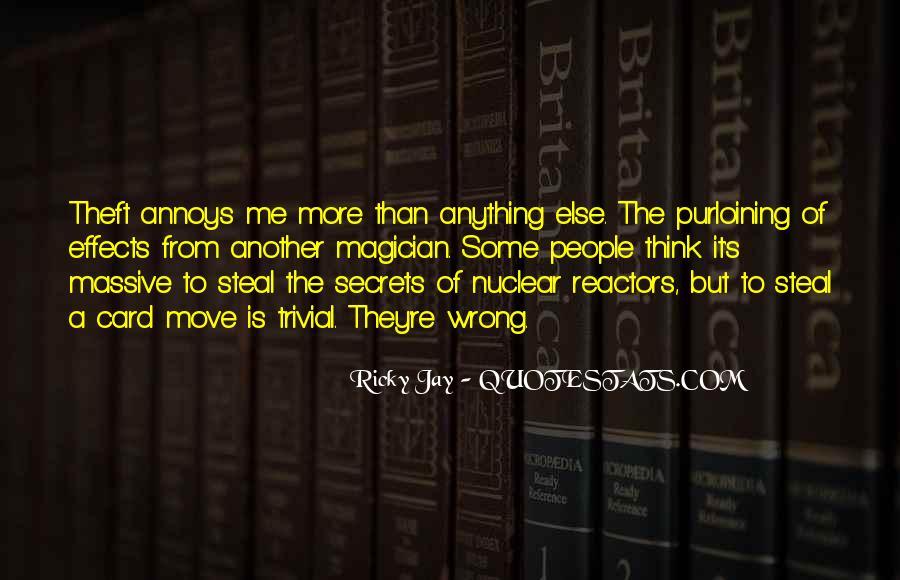 Ricky Jay Quotes #95140