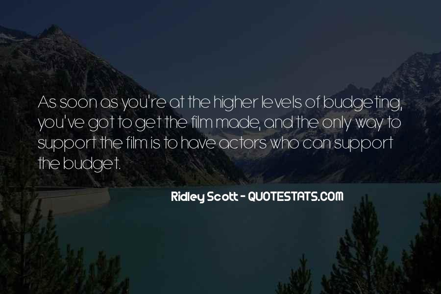 Ridley Scott Quotes #1644097