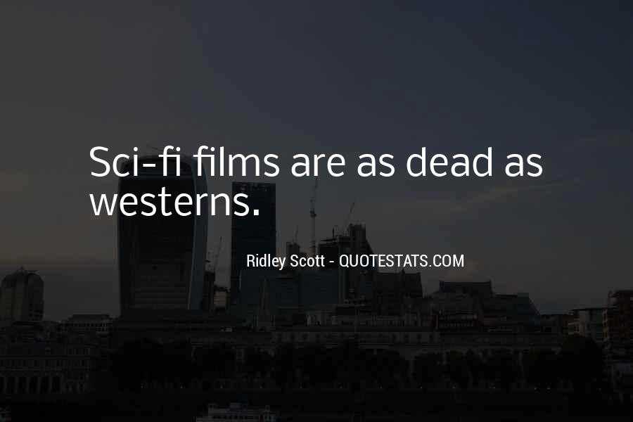Ridley Scott Quotes #763439