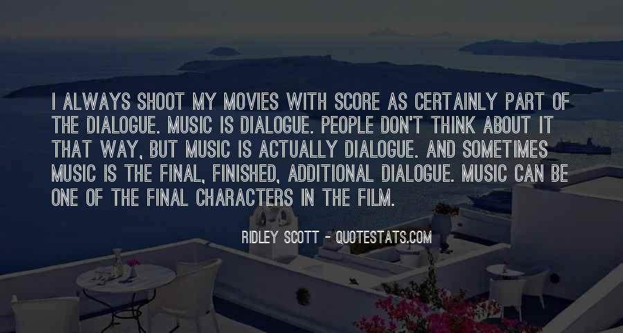 Ridley Scott Quotes #925895