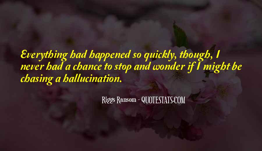 Riggs Ransom Quotes #1691024