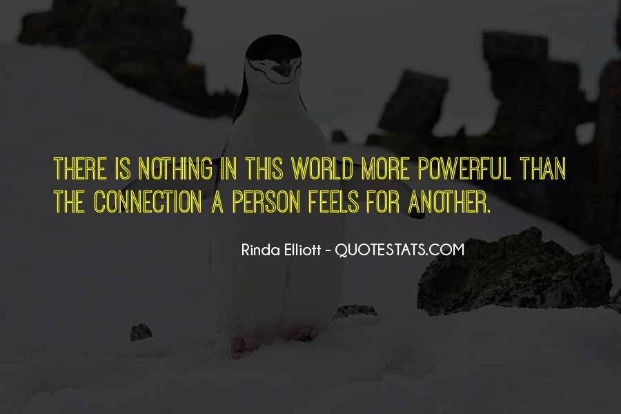 Rinda Elliott Quotes #3374