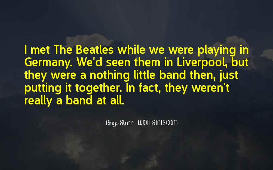 Ringo Starr Quotes #1131786