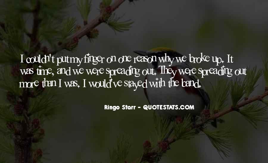 Ringo Starr Quotes #1739729