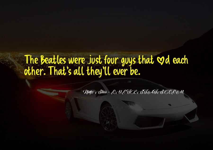 Ringo Starr Quotes #266920