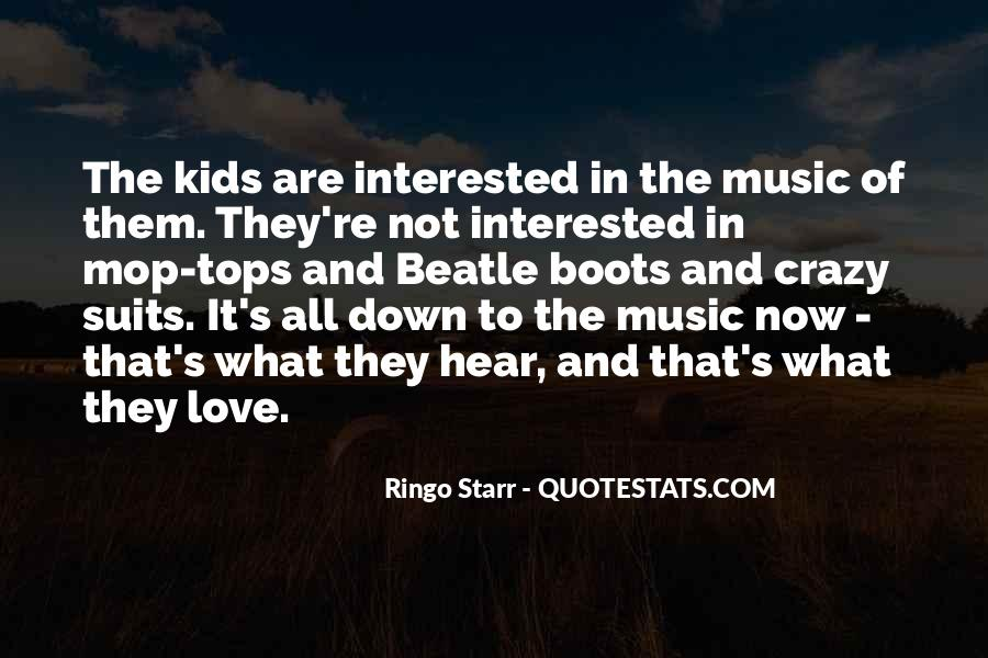 Ringo Starr Quotes #307411