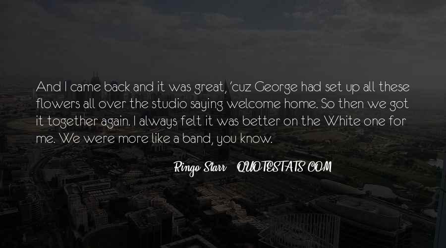 Ringo Starr Quotes #700431