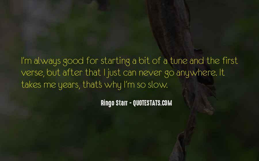 Ringo Starr Quotes #71986