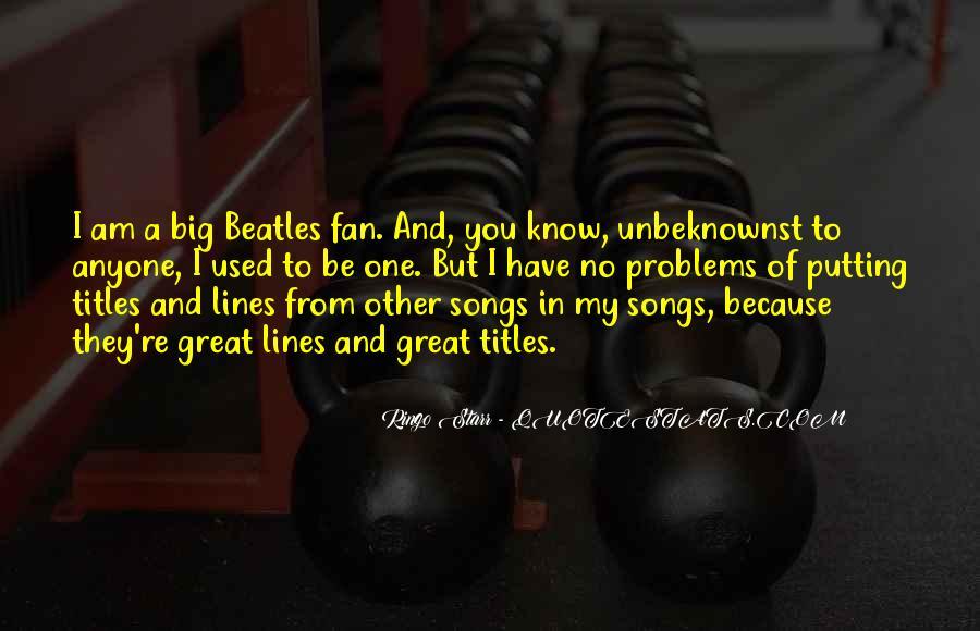 Ringo Starr Quotes #744830