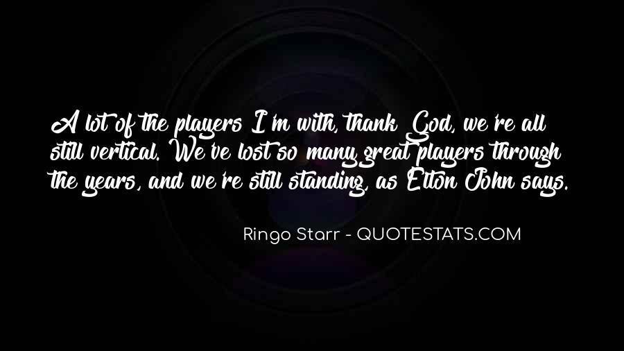 Ringo Starr Quotes #850319