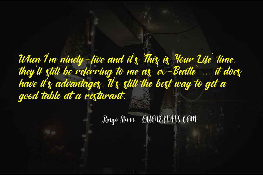 Ringo Starr Quotes #882816