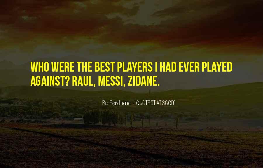 Rio Ferdinand Quotes #1059214