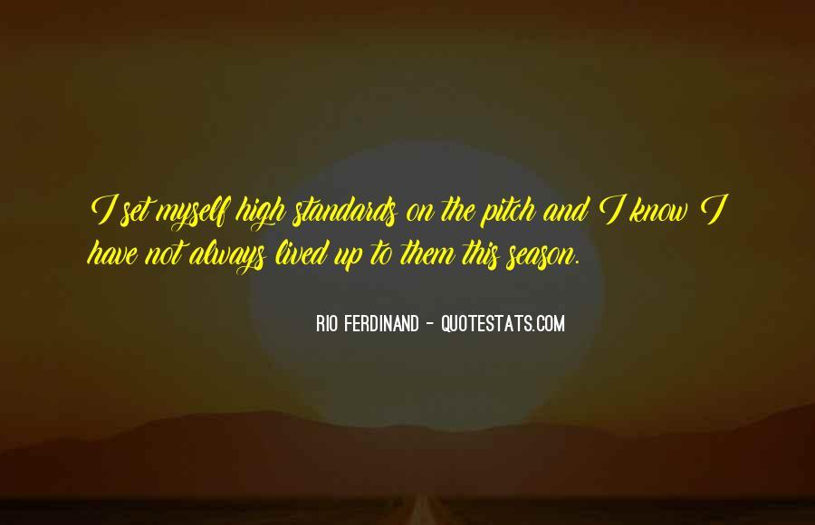Rio Ferdinand Quotes #1341766