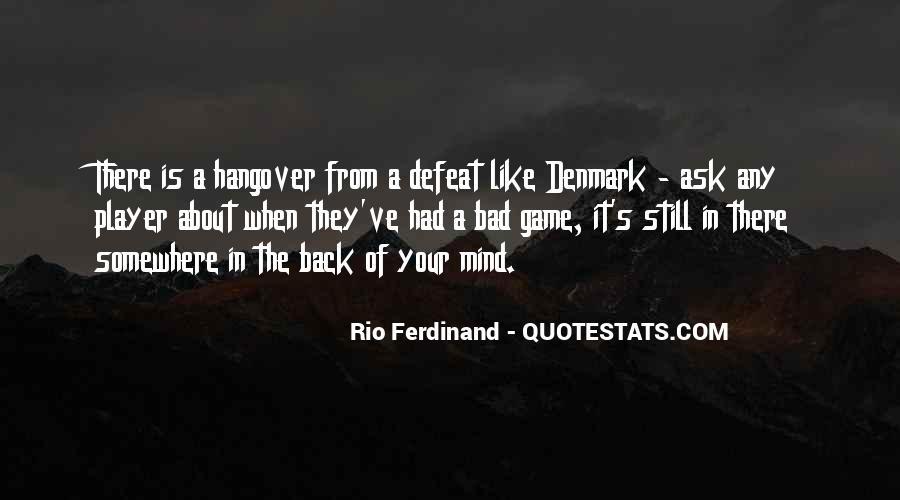 Rio Ferdinand Quotes #1370019