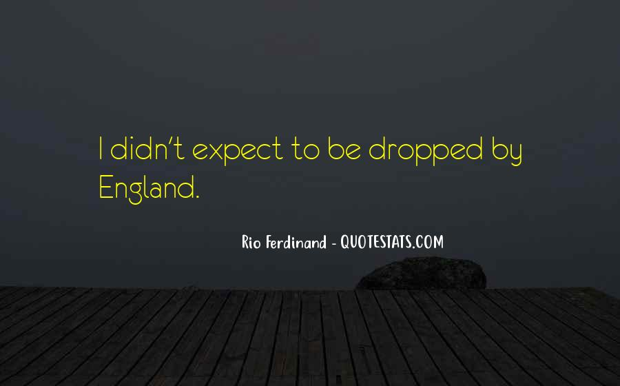 Rio Ferdinand Quotes #138524