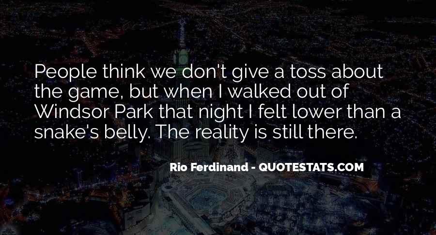 Rio Ferdinand Quotes #1565437