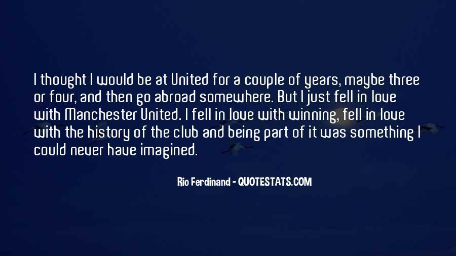 Rio Ferdinand Quotes #1649961