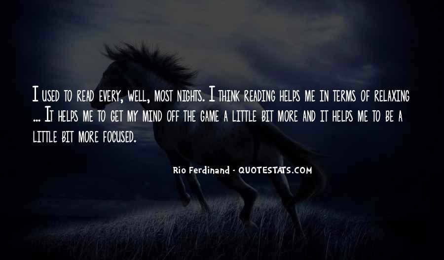 Rio Ferdinand Quotes #1866901