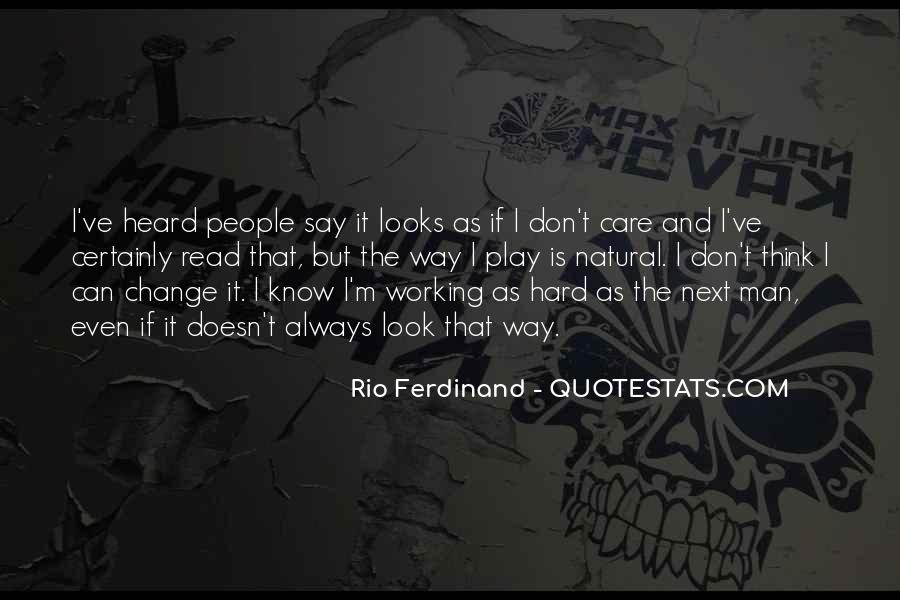 Rio Ferdinand Quotes #337619