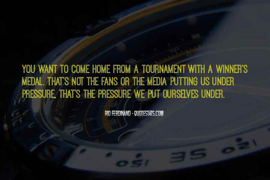 Rio Ferdinand Quotes #449974