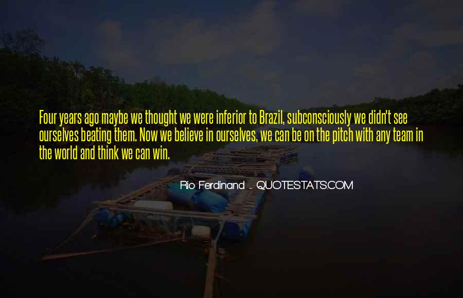 Rio Ferdinand Quotes #708710