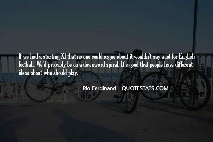 Rio Ferdinand Quotes #878593