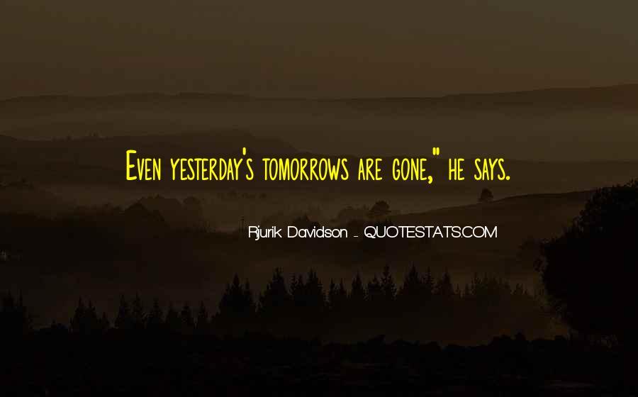 Rjurik Davidson Quotes #756105