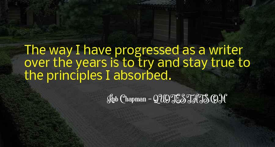 Rob Chapman Quotes #1836078