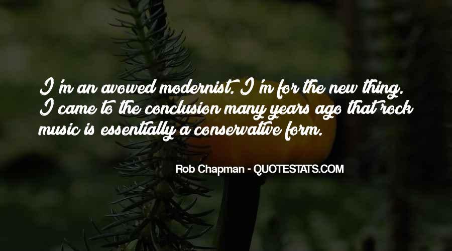 Rob Chapman Quotes #516041