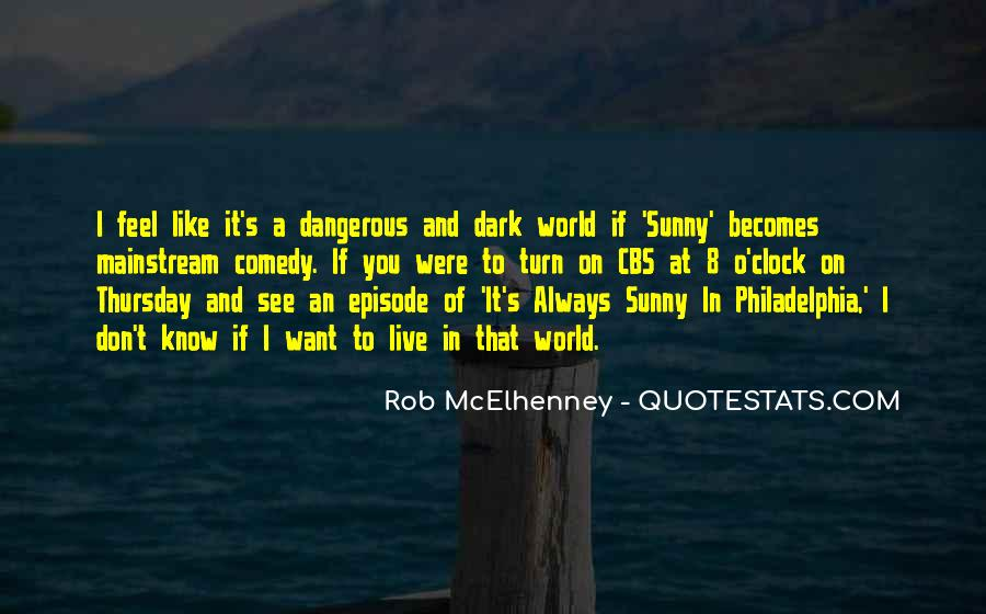 Rob McElhenney Quotes #875506