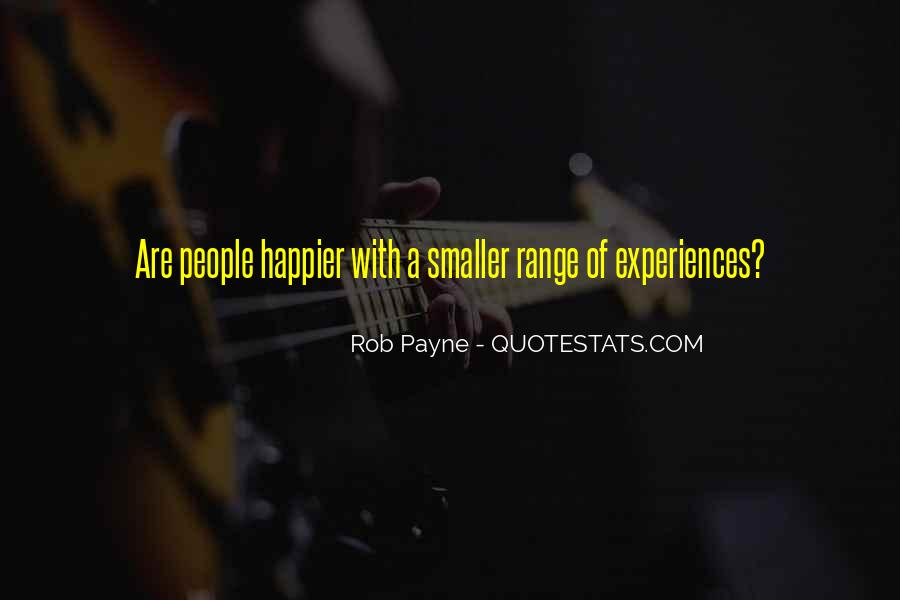 Rob Payne Quotes #1395153