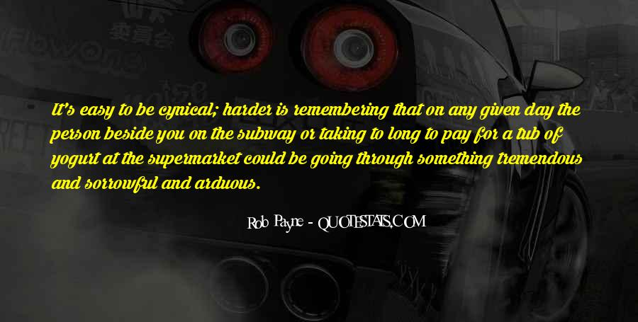 Rob Payne Quotes #811359