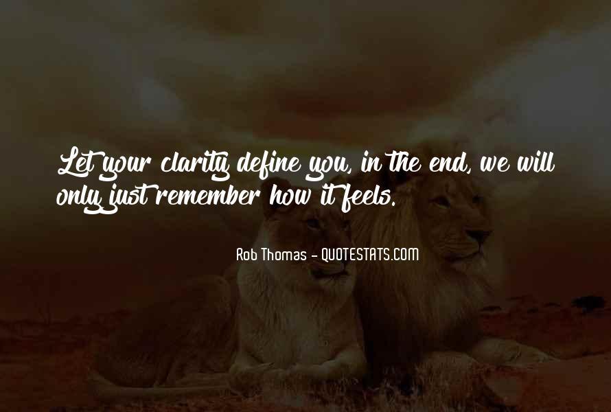Rob Thomas Quotes #1147965