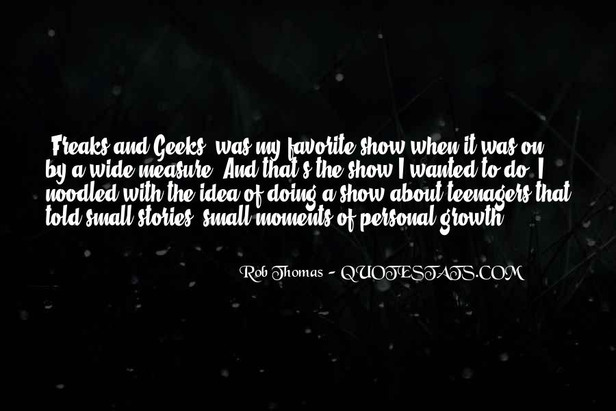 Rob Thomas Quotes #1241387