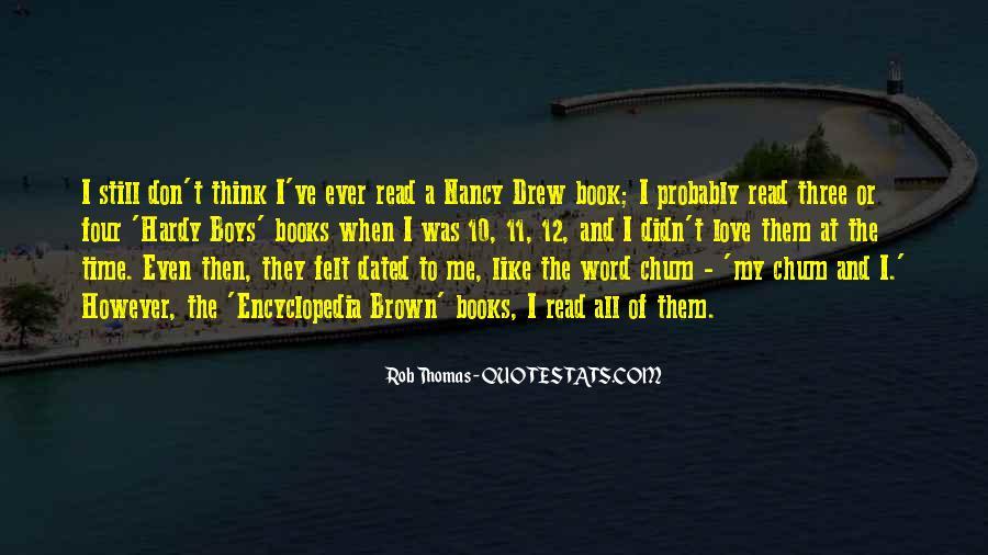 Rob Thomas Quotes #636198