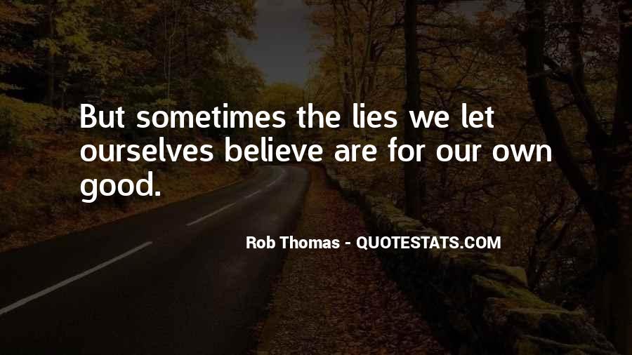 Rob Thomas Quotes #65193