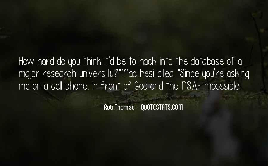 Rob Thomas Quotes #69127