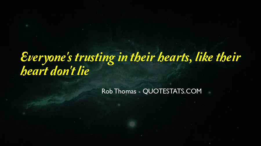 Rob Thomas Quotes #704830