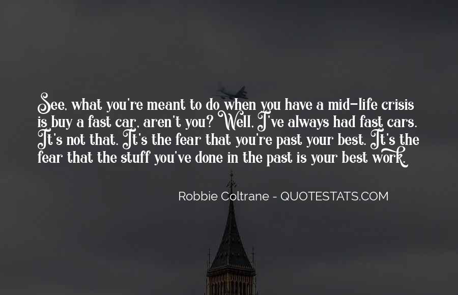 Robbie Coltrane Quotes #147705