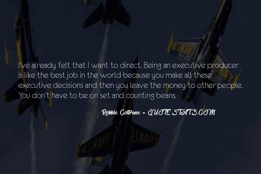 Robbie Coltrane Quotes #1732097