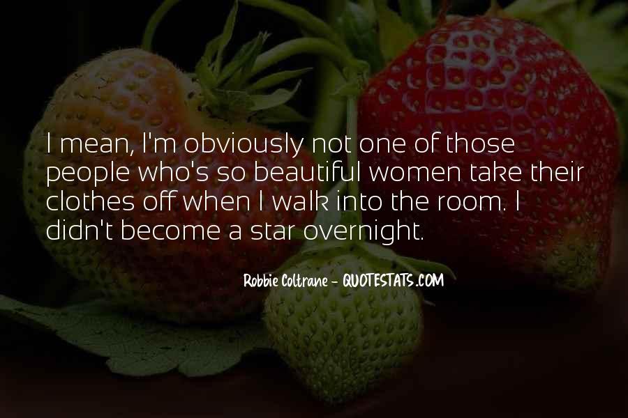 Robbie Coltrane Quotes #487111